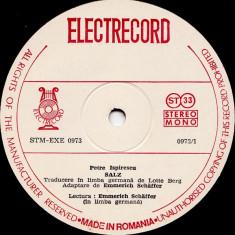 Petre Ispirescu - Salz / Greuceanu (Vinyl) - Muzica pentru copii electrecord