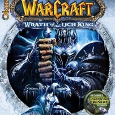 World of Warcraft, WOW, Wrath of the Lich King NOU SIGILAT - Joc PC Blizzard, Role playing, 16+, MMO