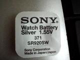 baterie ceas Sony, cu argint-AG6-LR921-G6-LR69-171-371-SR920SW.