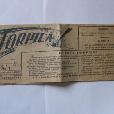 REDUCERE 20%!!! F.F.F.RAR! PRIMUL NUMAR DIN 1941 AL SAPTAMANALULUI UMORISTIC TORPILA