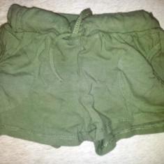 Pantaloni scurti bumbac de la Happy tree, talie 18-19 cm, ca noi, Culoare: Khaki