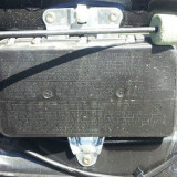 Mercedes C Class W203, 2003 - 2007, Airbag portiera dreapta spate, A2038600205 - Airbag auto