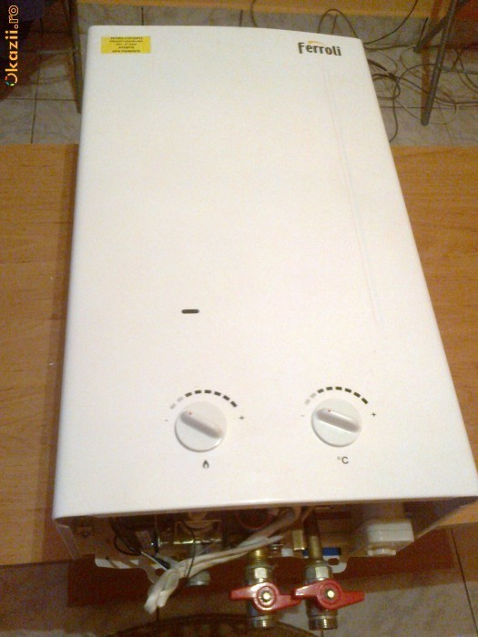 Boiler/ Instant  gaz pentru apa calda  FERROLI foto mare