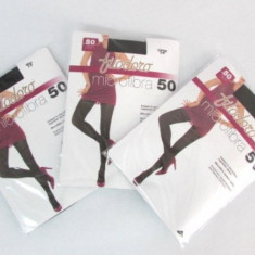 Set 3 dresuri Filodoro 50 Den, Marime: S, M, L, Culoare: Coffee, Nero