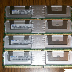 Memorii ram Samsung 4x2gb 2Rx4 PC2-5300F - Memorie server