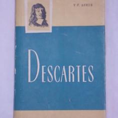 DESCARTES- V.F. ASMUS - Filosofie Altele