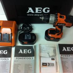 AEG BS 14 C este din 2010 de 14, 4V - Bormasina