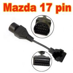 Cablu adaptor pentru Mazda de la 17 pini la OBD2 16 pini diagnoza