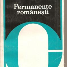 (C2243) PERMANENTE ROMANESTI DE AL. PIRU, EDITURA CARTEA ROMANEASCA, BUCURESTI, 1978 - Ghid de calatorie