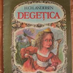 DEGETICA - H. GH. ANDERSEN - carte pentru copii - Carte educativa