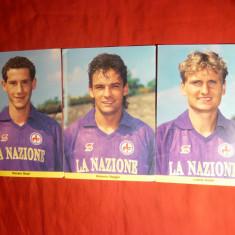 3 Fotografii -Fotbalisti Italia - format mai mare