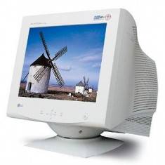 Monitor LG FLATRON 795FT Plus 17'' cu USB Hub incorporat stare excepţională - Monitor CRT LG, 17 inch, 1600 x 1280