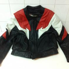 Geaca Moto de Piele Marca SANMARU marimea 42 - Imbracaminte moto, Geci