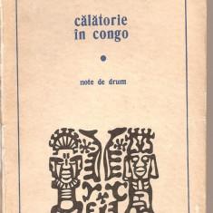 (C2271) CALATORIE IN CONGO DE ANDRE GIDE, EDITURA UNIVERS, BUCURESTI, 1971, NOTE DE CALATORIE - Ghid de calatorie