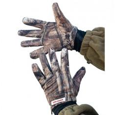 Manusi pescar Baracuda Camuflaj - Imbracaminte Pescuit Baracuda, Marime: L, XL