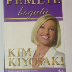 Robert Kiyosaki - Kim - Femeie bogata - ca noua - 2+1 gratis toate licitatiile - RBK 1452 - Carte afaceri
