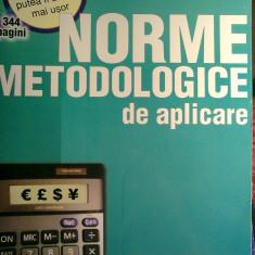 Codul fiscal Norme metodologice de aplicare - 344 pagini
