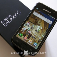 SAMSUNG GALAXY S IMPECABIL - Telefon mobil Samsung Galaxy S, Negru, 8GB