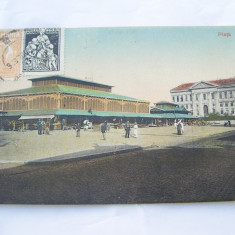 CARTE POSTALA NR.540-CRAIOVA-PIATA - Carte Postala Oltenia 1904-1918, Circulata