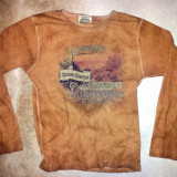 SH: Tricou vintage din bumbac de la Fred Harvey Trading Co USA, masura M