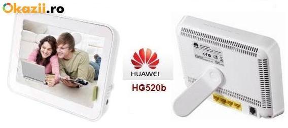 Router wireless romtelecom Adsl Huawei Hg520b foto mare