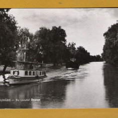 DELTA DUNARII CANALUL DRANOV 1959