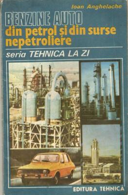Benzine auto din petrol si din alte surse nepetroliere foto