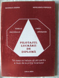 """""""PILOTAJUL LUCRARII DE DIPLOMA"""", Marinica Dobrin / Aurelientu Popescu, 2002. Licenta. Absolut noua"""