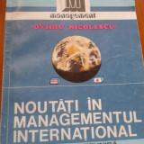 NOUTATI IN MANAGEMENTUL INTERNATIONAL - Ovidiu Nicolescu