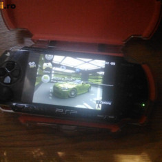 PSP Sony PLAYSTATIONPORTABIL 4GB MODAT CARCASA