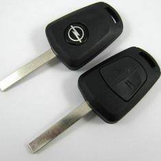 Carcasa cheie Opel 2 butoane auto lama HU100