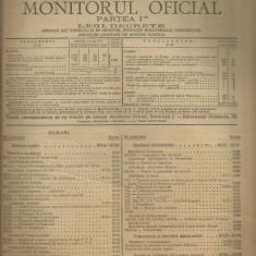 MONITORUL OFICIAL - legi,decrete, 1929