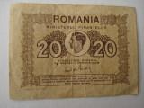Bancnota (bilet ) -20  lei  - 1945