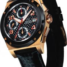 Ceas Jaguar 18 K (Aur) - Sunset; Automatic - Chronograph - Ceas barbatesc Zenith, Lux - sport, Quartz, Piele, Analog