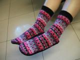 Vand papuci de iarna, Multicolor, 36 2/3