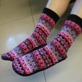 Vand papuci de iarna - Papuci dama, Culoare: Multicolor, Marime: 36 2/3