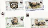SERIE ANIMALE KAZAKSTAN   1997 WWF