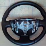 Volan piele naturala cu perforatii laterale Renault Megane 2 ( fab. '02-'09)