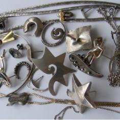 Bijuterii vechi din argint - defecte sau incomplete