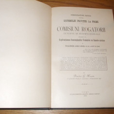 COMISIUNI ROGATORII INTERNE si INTERNATIONALE - Dimitrie G. Maxim - 1899, 240p. - Carte Drept international