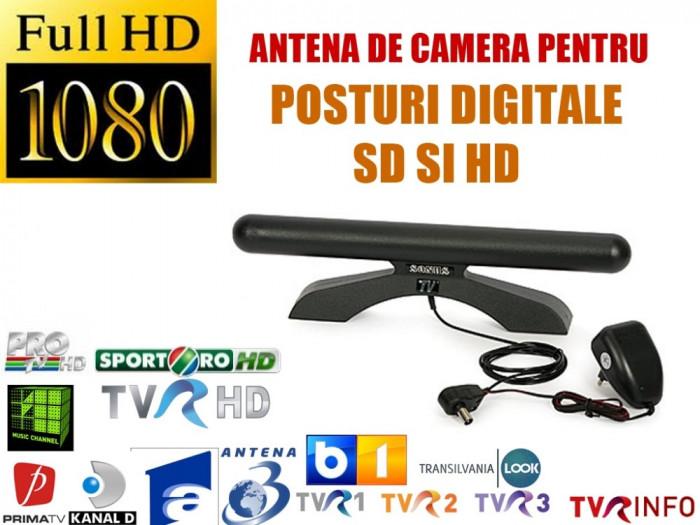 Antena DVB-T de interior cu amplificator: Sonus foto mare