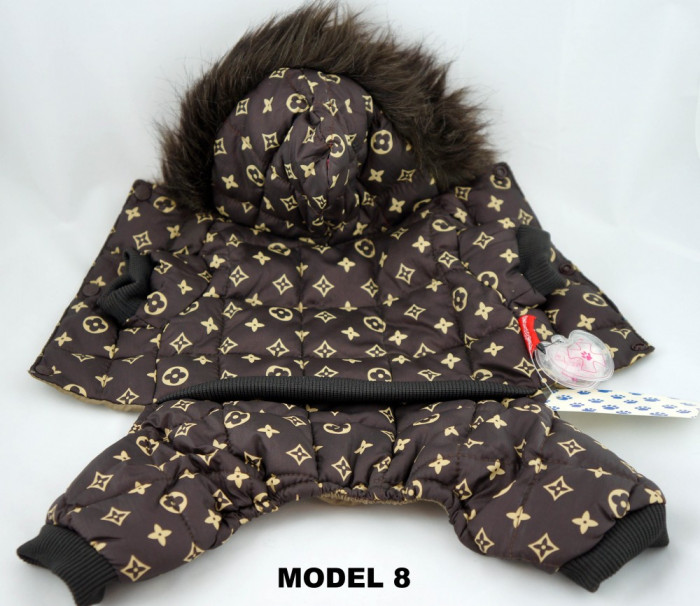 Haine / Imbracaminte catel / caine firma Louis Vuitton, model 2012 DEOSEBIT, ideal cadou foto mare