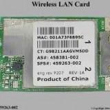 +1228 vand placa de reteaWireless LAN Card Mini PCI   WiFi Hp CQ45  HP 550  6720  compaq 459263-002 Hp