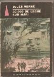 (C2427)   20.000 DE LEGHE SUB MARI DE JULES VERNE, EDITURA TINERETULUI, BUCURESTI, 1968, TRADUCERE DE LUCIA DONEA SADOVEANU SI GELLU NAUM, Alta editura, Jules Verne