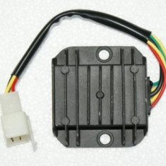 Releu / regulator incarcare / tensiuune scuter ( 4 fire )