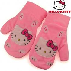 Manusi Hello Kitty. - Manusi Dama Hello Kitty, Marime: XS, Culoare: Roz