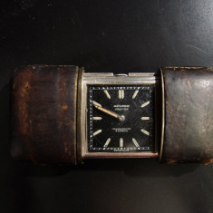 Movado Ermeto Poket 1928 - Ceas barbatesc Movado, Elegant, Mecanic-Manual, Argint, Analog