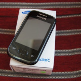 Samsung galaxy pocket - Telefon mobil Samsung Galaxy Pocket, Negru