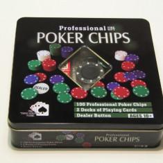 Set poker Profesional 100 piese