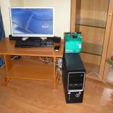 PC INTEL PREMIUM DUAL CORE 5700 WEBCAM LOGITEHC PRO 9000 HD - Sisteme desktop cu monitor, Intel Pentium Dual Core, 2 GB